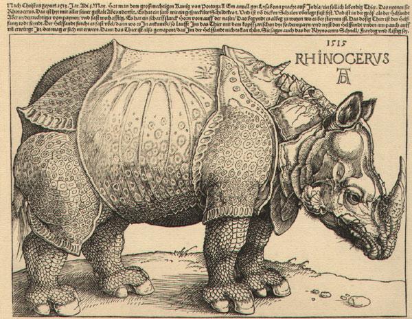 figura de Dürer no British Museum