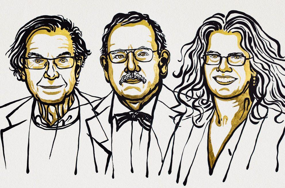 Roger Penrose, Reinhard Genzel, Andrea Ghez