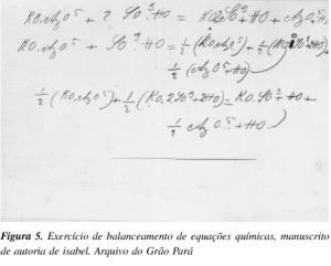Crédito: Artigo de Carlos Filgueiras, Química Nova vol.27 (2), 2004