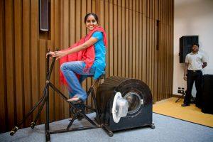 Remya Jose e sua invenção. Por Gene Driskell.