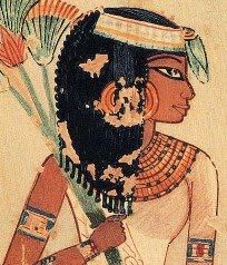 Hieróglifo egípcio representando Peseshet, supervisora e administradora de um grupo de médicas. Fonte: europepmc.org