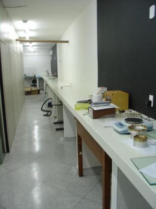 Laboratório de fibras ópticas. Créditos: LNA. Todos os direitos reservados.