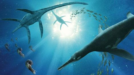 >Monstros marinhos de sangue-quente