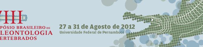 VIII Simpósio Brasileiro de Paleontologia de Vertebrados