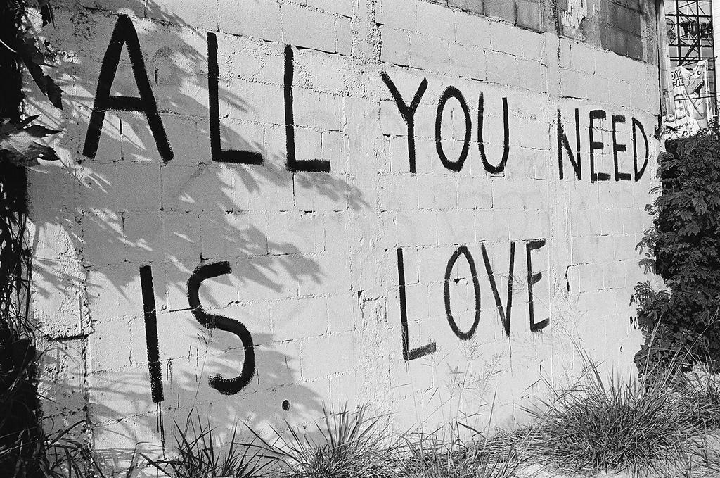Tudo o que você precisa é amor