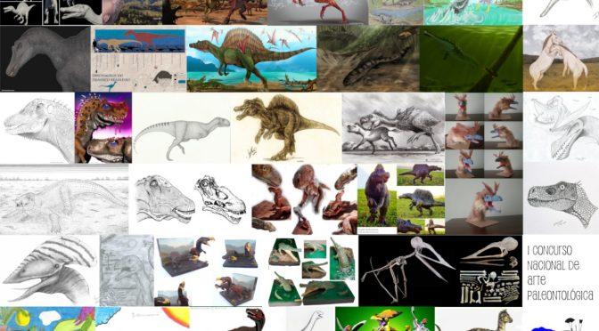 Vencedores do I Concurso de Arte Paleontológica (ICAP)