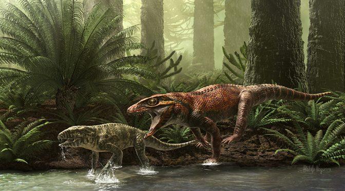 Um bicho tinhoso!! Conheça o mais novo predador do Cretáceo do Brasil