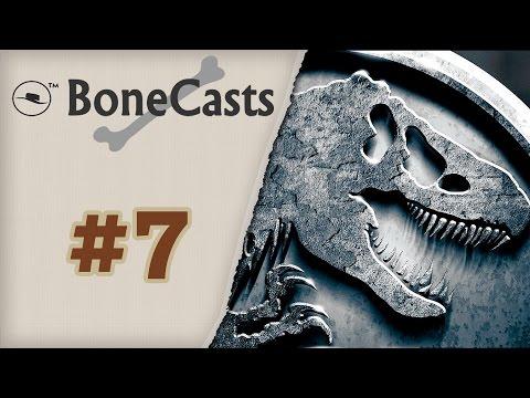 """BoneCast #7 – Mesa Redonda sobre os livros """"Jurassic Park"""" e o """"Mundo Perdido"""""""