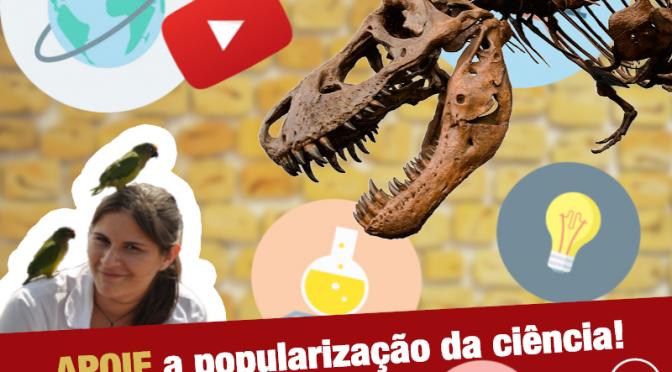 Ajude a popularizar a ciência no Brasil! Precisamos de você!