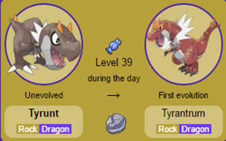 Tyrunt e Tyrantrum