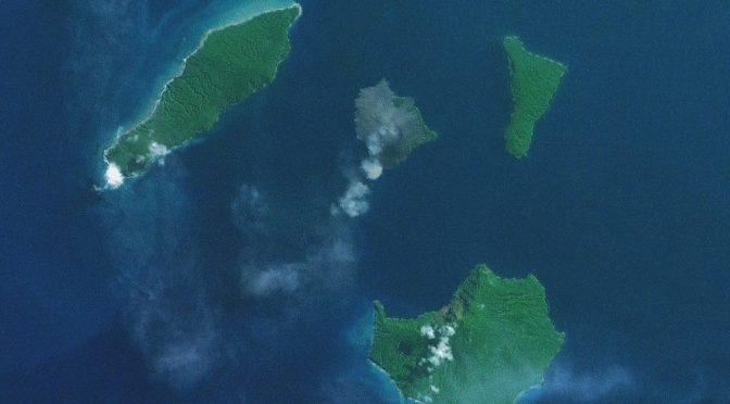 Krakatoa em atividade: é o fim do mundo?