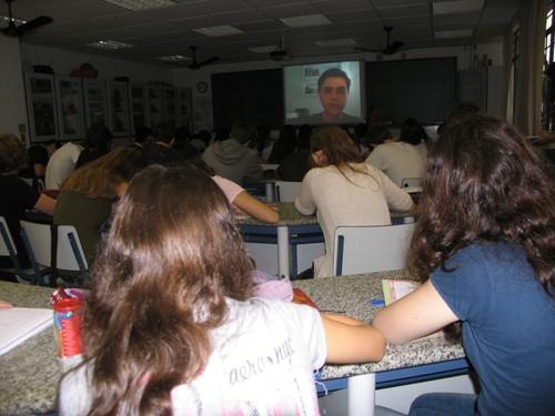 Ecologia em sala de aula, via internet