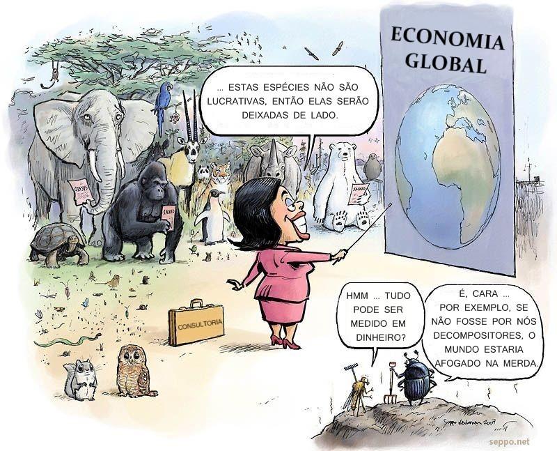 Sobre espécies ameaçadas não lucrativas