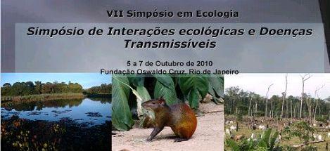 Simpósio de interações ecológicas e doenças transmissíveis