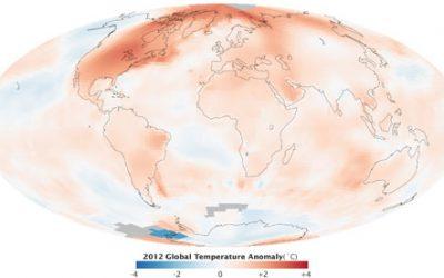 Aquecimento Global: 2012 está entre os 10 anos mais quentes já registrados