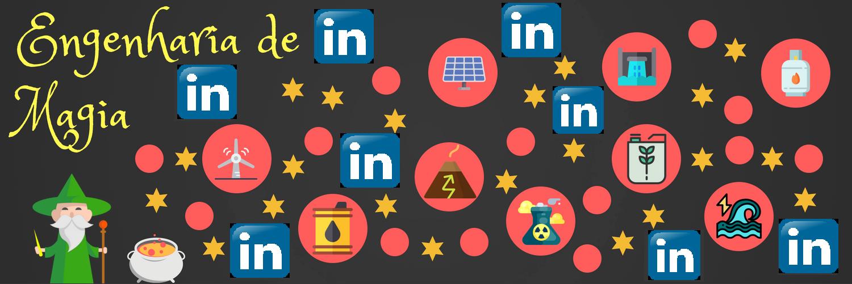 Também estamos no LinkedIn para você acompanhar