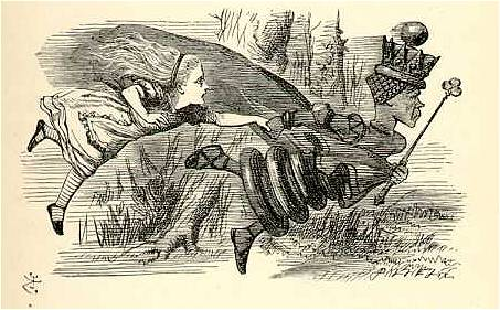 Alice e a Rainha Vermelha