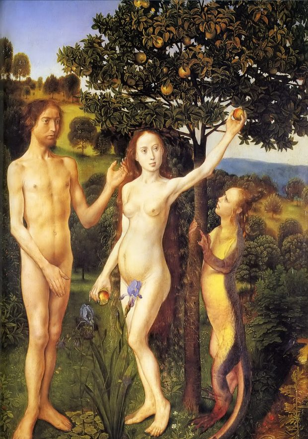 The Fall of Adam and Eve, Hugo van der Goes 1470