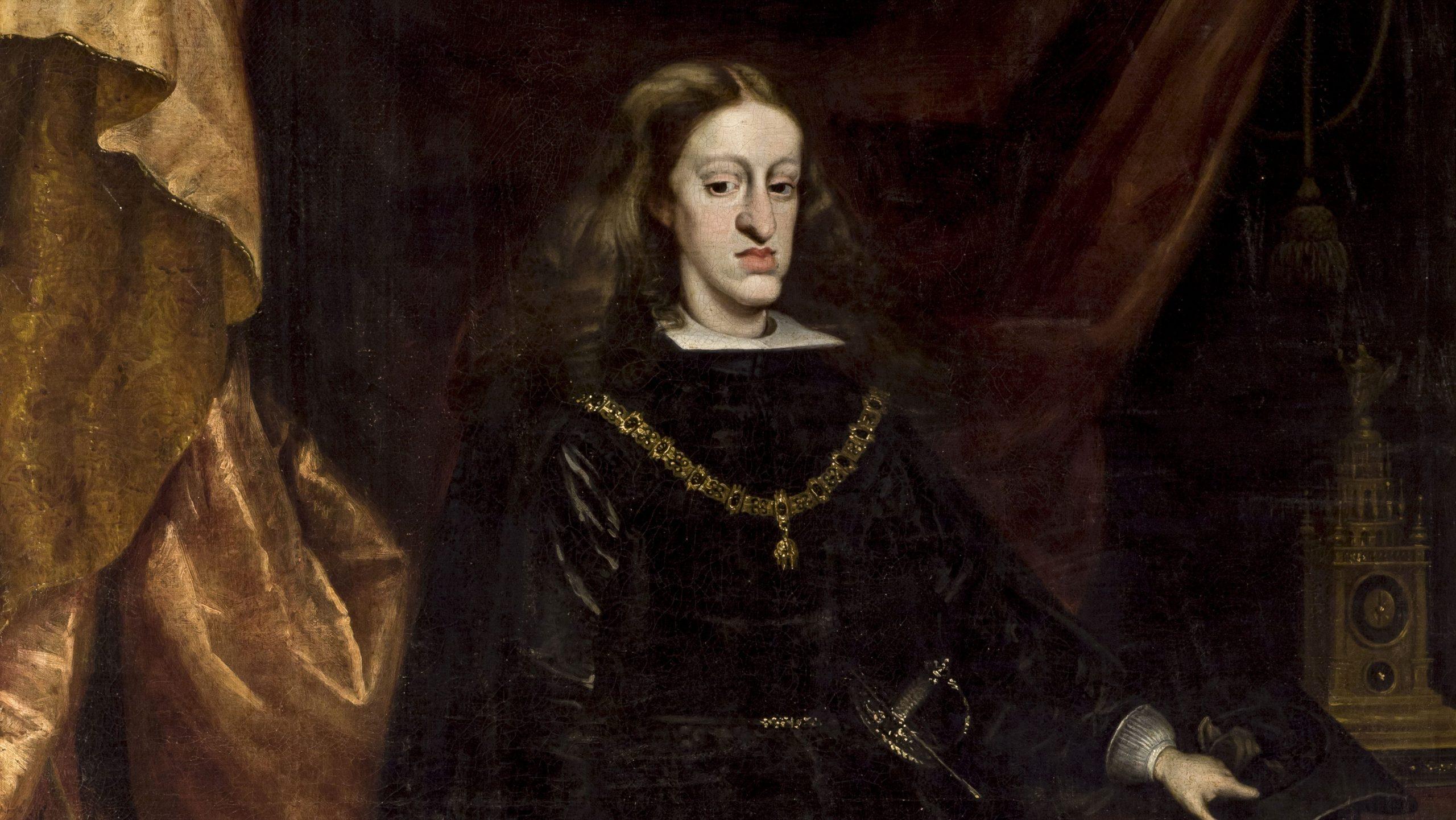 Retrato de Carlos II, da dinastia Habsburgo