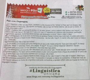 Pão e linguística