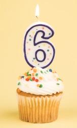 cupcake-6-candle-