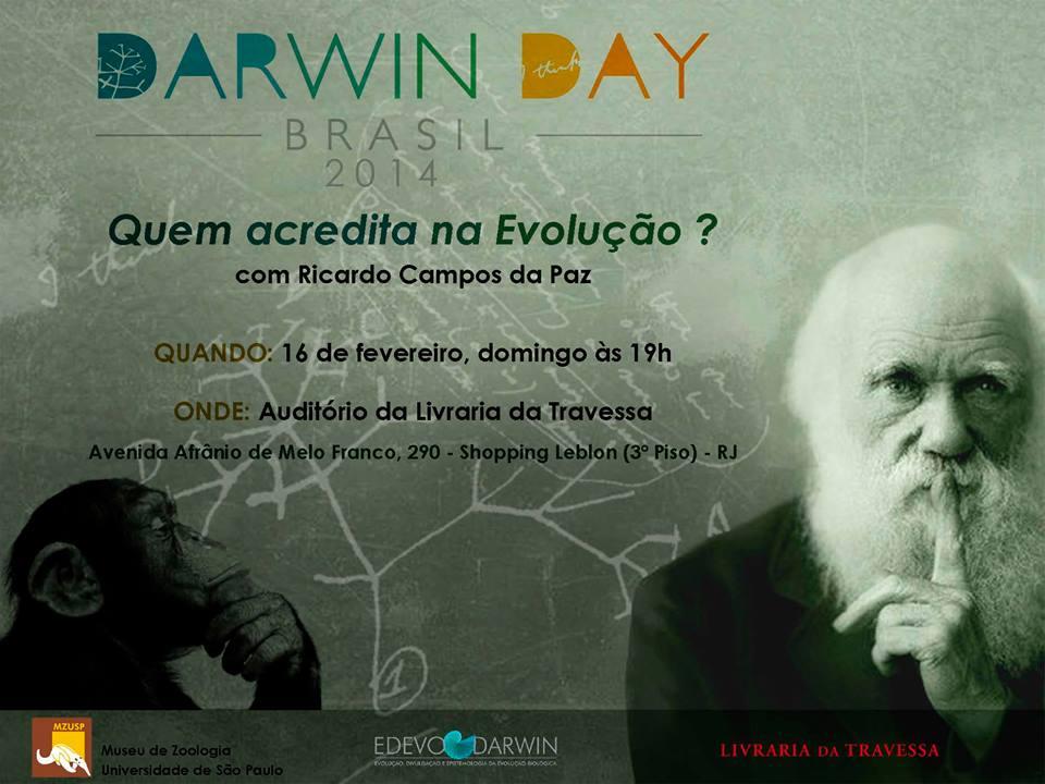 Darwin Day brasil 2014