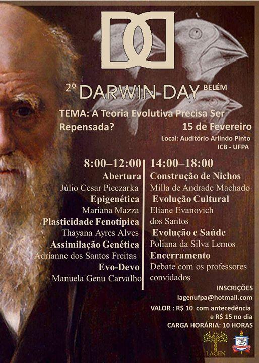 Darwin Day Lagen UFPA 2017