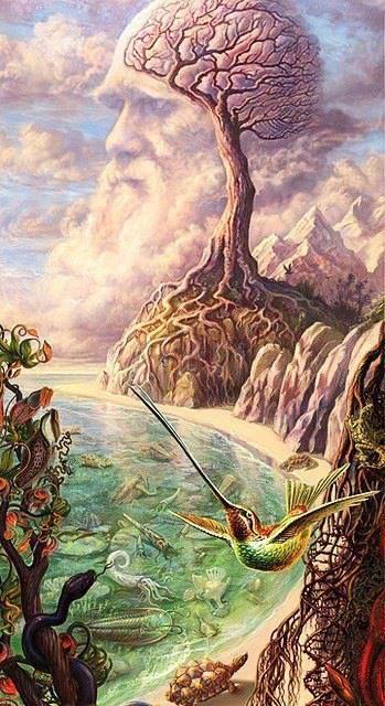 -charles-darwin-surrealism-painting