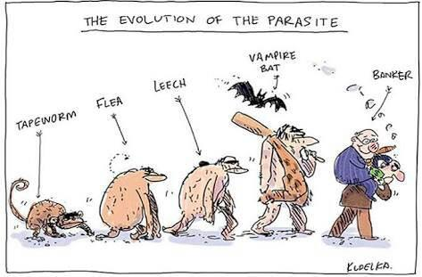 evolution of the parasite