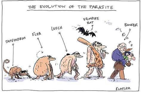 evolution of the parasite
