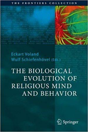 capa livro the biological evolution of religious mind and behavior