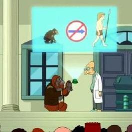 orangutan criationism Futurama.S06E09.HDTV_.XviD-FEVER-02.07.33