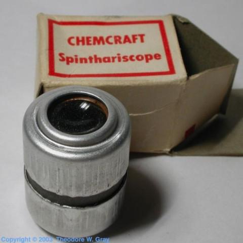 Spinthariscope imagem original da wikipedia