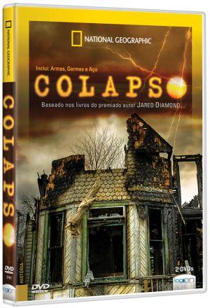 capa dvd colapso