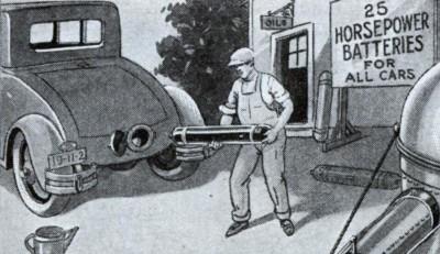 baterias para carros 1934