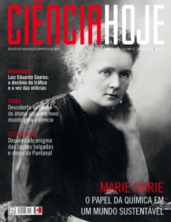 capa da revista ciência hoje janeiro 2011