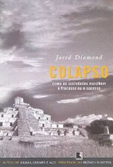 capa do livro colapso do Jared Diamond