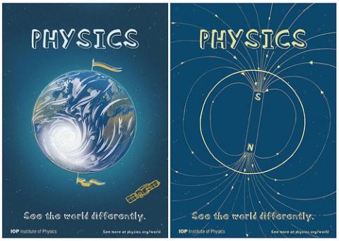 cartaz para gostar de física