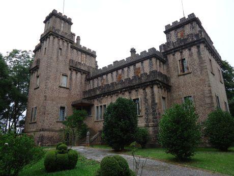 externa do castelo