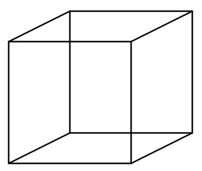 cubo necker ilusao