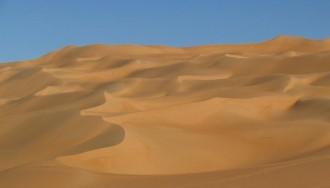 deserto vazio