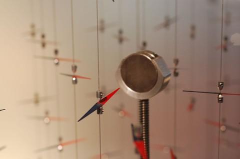 arte para explicar o magnetismo