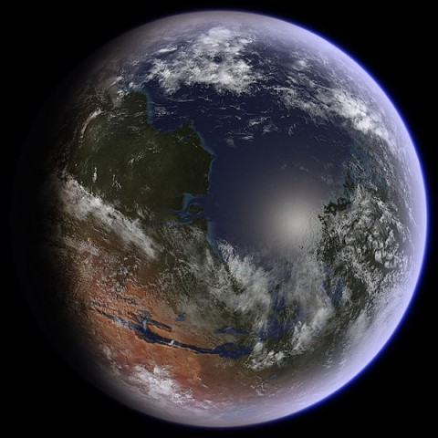 transformando marte na Terra