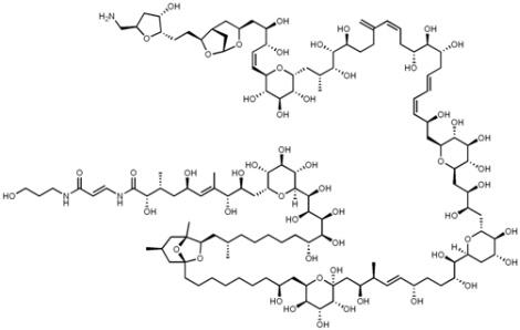 palitotoxina estrutura via wikipedia