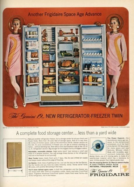 refrigerador design futurista