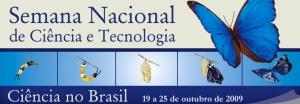 semana ciencia tecnologia 2009 brasil logo