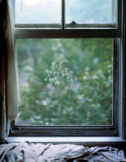 serotonin molecula janela