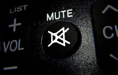 botão mute do controle