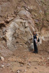 Figura 2 – Estromatólitos gigantes de Santa Rosa de Viterbo/SP, Brasil.