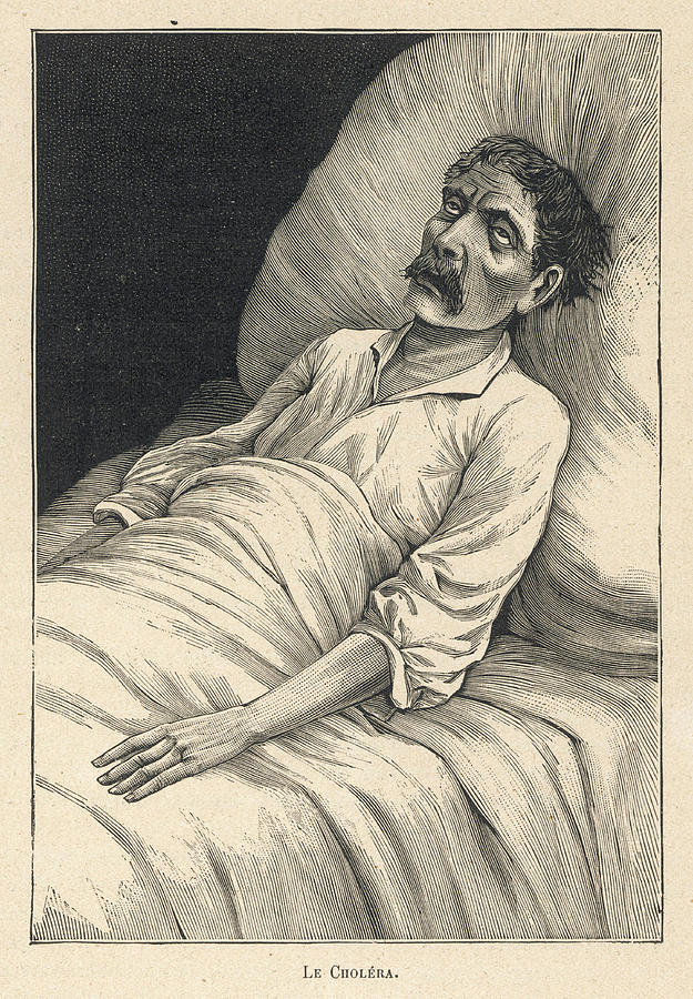 Doente de Cólera (~1880)